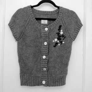 L.O.G.G. by H&M Button Embroidered Knit Sweater